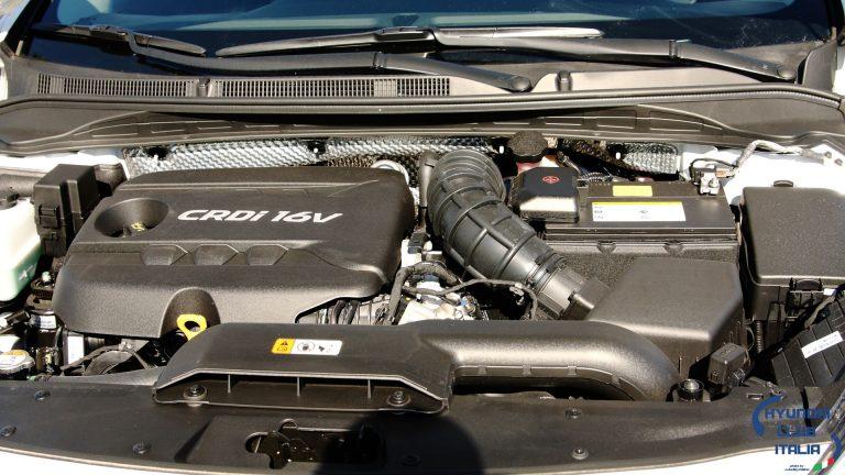 Foto del motore di Hyundai i40