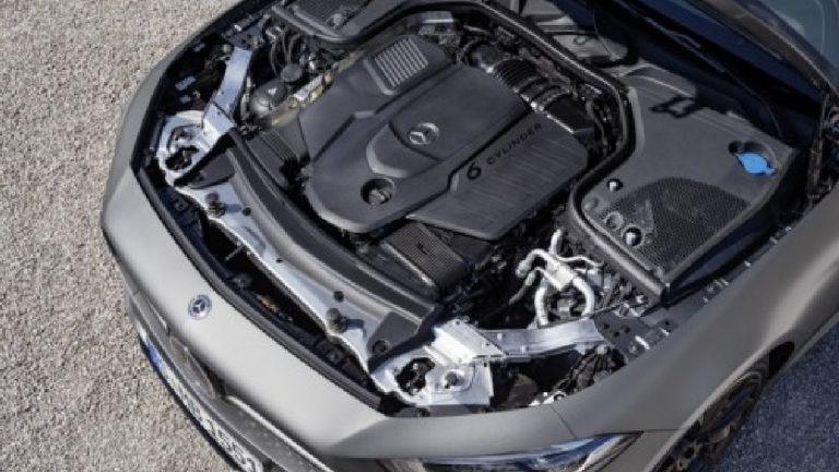 Foto del motore di Mercedes-Benz CLS CLS 450 4Matic Premium Auto EQ-BOOST