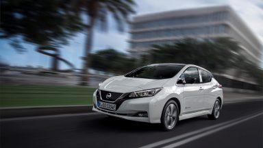 Nissan Leaf: la prima auto con funzione ninna nanna