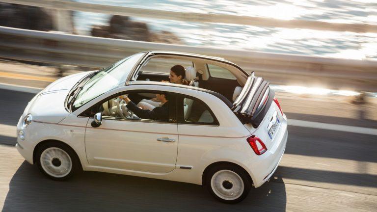 auto cabrio economiche: fiat 500c