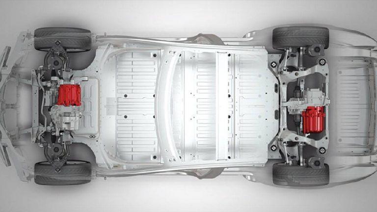 Foto del motore di Tesla Model S Model S 100 kWh Performance Dual Motor aut. 4WD
