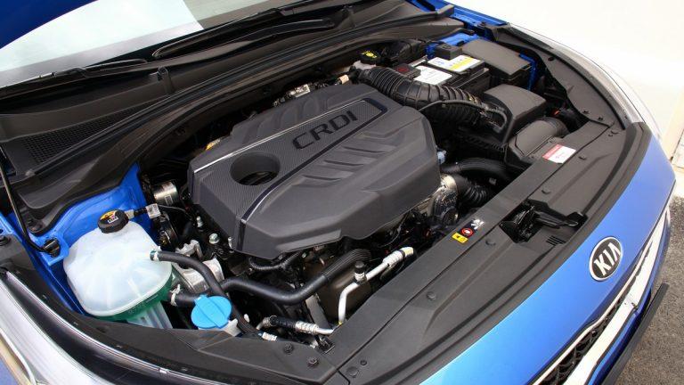 Foto del motore di KIA Ceed