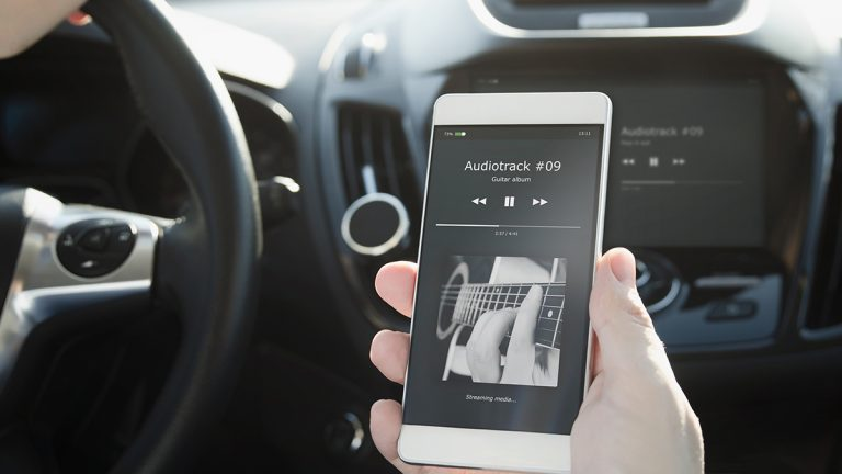 android auto spotify
