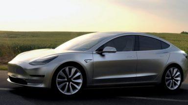 Tesla Model 3: batteria rivoluzionaria per il modello cinese