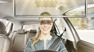 Anche il parasole è smart: ecco il Virtual Visor di Bosch