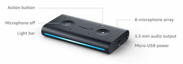 Componenti Amazon Echo Auto