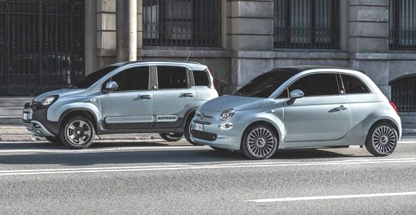 Fiat Panda Hybrid e Fiat 500 Hybrid