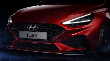 Hyundai i30: il restyling è anticipato da un teaser