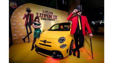 Lupin III e Abarth 595: la coppia torna daccapo protagonista