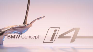 BMW Concept i4: la quattro porte elettrica arriva a Ginevra