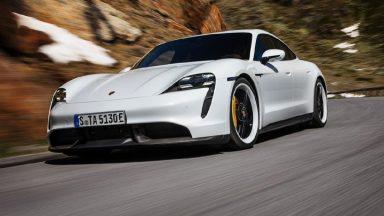Porsche Taycan: per gli esperti è l'auto più innovativa