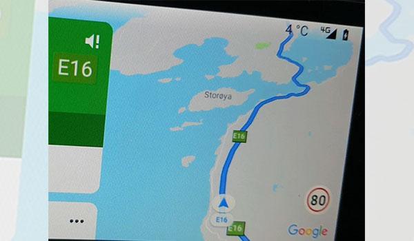 I limiti di velocità segnalati da Google Maps per Android Auto