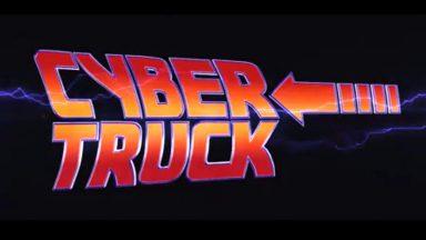 Ritorno al futuro, ma questa volta con un Tesla Cybertruck
