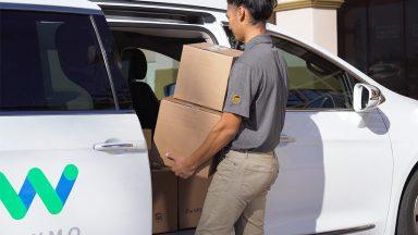 La guida autonoma delle vetture Waymo per le consegne di UPS