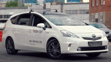 Yandex Taxi: 2 milioni di miglia per le self-driving car