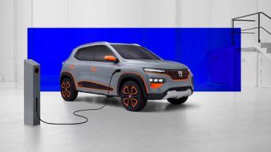 Dacia Spring: le foto dei brevetti anticipano lo stile