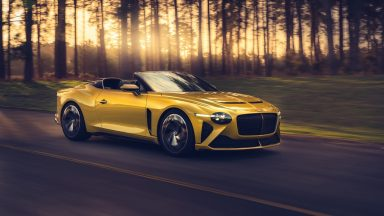Bentley Bacalar: in edizione limitata per celebrare 100 anni