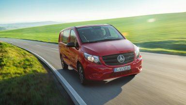 Mercedes eVito: arriva il restyling per il van elettrico
