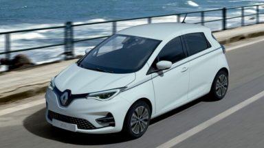 Renault Zoe: immagini della nuova serie limitata Riviera