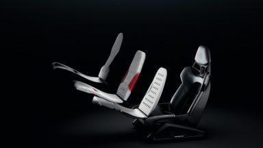 Porsche: i sedili sportivi personalizzati si stampano in 3D