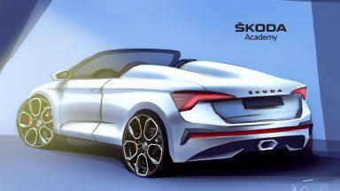 Skoda Scala spider: ecco il primo disegno della concept car