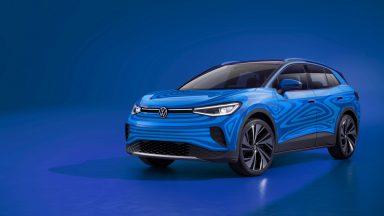 Volkswagen ID.4: ecco gli interni del SUV elettrico