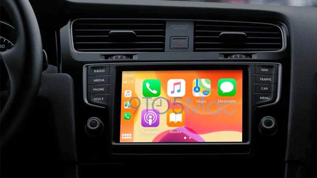 La personalizzazione dello sfondo su Apple CarPlay