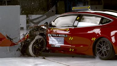 Tesla Model 3, Top Safety Pick+ 2020 per la sicurezza