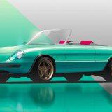 Alfa Romeo Spider: Garage Italia la trasforma in elettrica