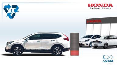 Honda: la rigenerazione delle batterie delle auto ibride