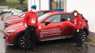 Mazda: al fianco della Protezione Civile e dei City Angels