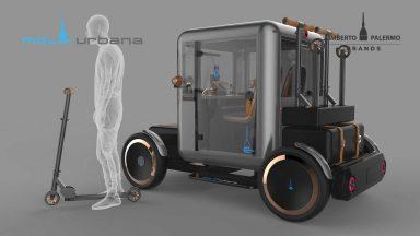 Mole Urbana: anteprima mondiale per il quadriciclo elettrico