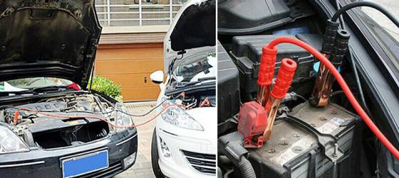 collegamento cavi auto batteria