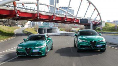 Alfa Romeo: ecco le nuove Giulia e Stelvio Quadrifoglio 2020