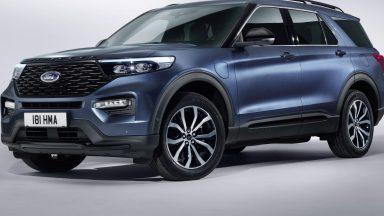 Ford Explorer: il SUV plug-in hybrid arriva in Europa