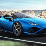 Lamborghini Huracan Evo: la spyder ha la trazione posteriore