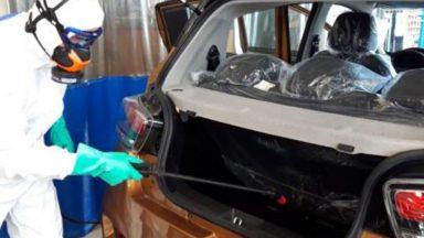 Auto e Coronavirus: nascono servizi per la sanificazione
