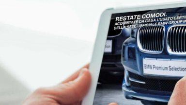 BMW: l'auto usata la si può acquistare direttamente da casa