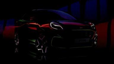 Ford Puma ST: il crossover sportivo si svela il 27 settembre