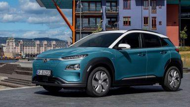 Hyundai Kona Electric: l'autonomia del SUV arriva a 484 Km