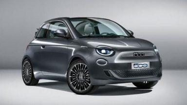 Fiat 500 elettrica: presentata a Sergio Mattarella