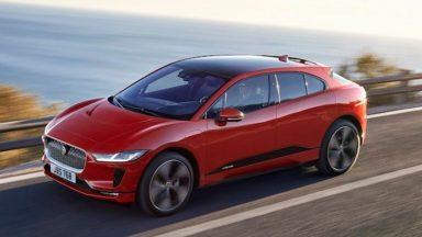 Jaguar I-Pace: ricarica più veloce e maggiore autonomia