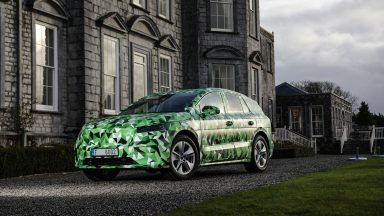 Skoda Enyaq: fino a 500 Km di autonomia per il SUV elettrico