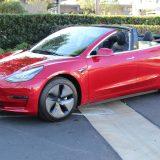 Tesla Model 3: negli USA si può avere anche cabrio