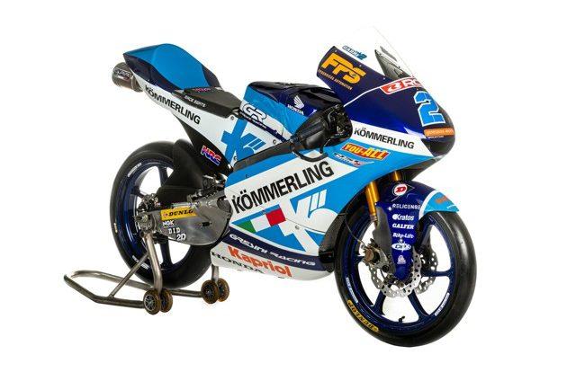 La moto di Gabriel Rodrigo, Gresini Racing, Moto3