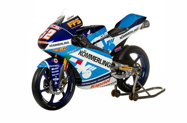 La moto di Jeremy Alcoba, Gresini Racing, Moto3