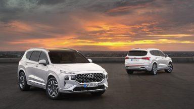 Nuova Hyundai Santa Fe: ecco i due motori ibridi disponibili
