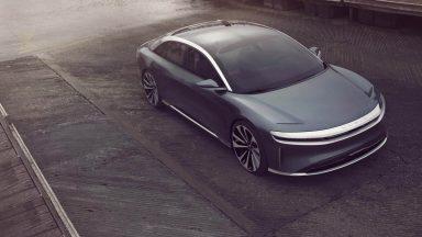 Lucid Air: l'anti Tesla Model S sarà svelata a settembre