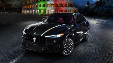 Maserati Levante: ecco la livrea dedicata all'Italia