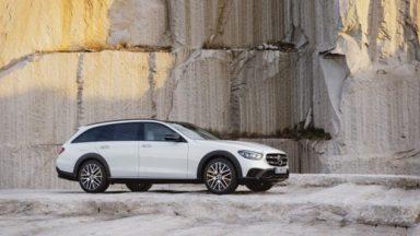 Mercedes Classe E: ecco il restyling ed i motori ibridi